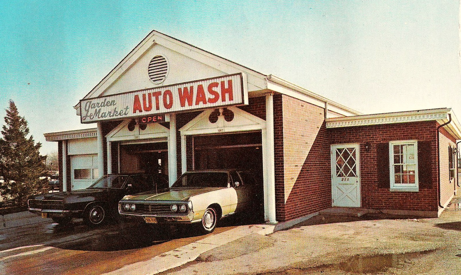 Heritage Car Wash: Remember These Old Car Washes?